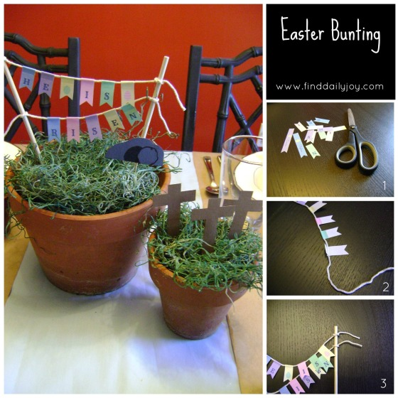 EasterBuntingCollage