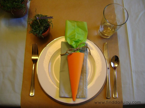 EasterPlaceSetting