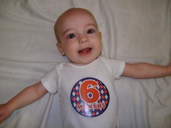 Henry - Six Months - finddailyjoy.com