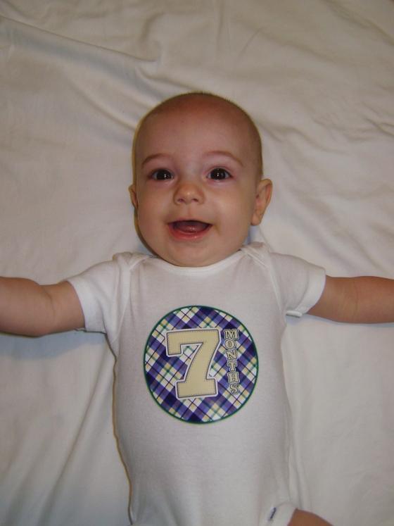 Henry - Seven Months - finddailyjoy.com