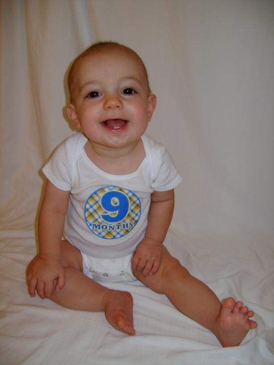 Henry - Nine Months - finddailyjoy.com
