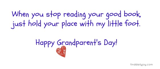 Grandparent's Day Bookmark {Free Printable} - finddailyjoy.com