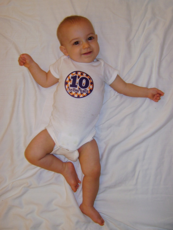Henry - Ten Months - finddailyjoy.com