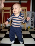Standing On His Own Two Feet - finddailyjoy.com