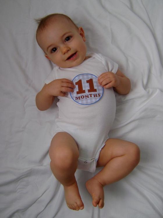 Henry - Eleven Months - finddailyjoy.com