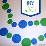 Paper Garland {Tutorial} - finddailyjoy.com