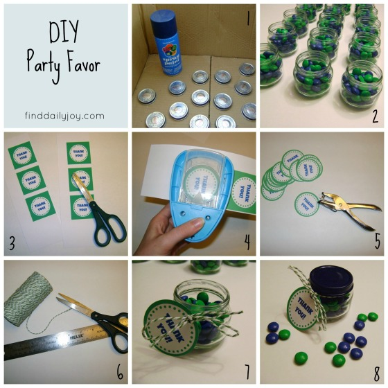 Party Favors {Tutorial & Printable} - finddailyjoy.com