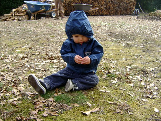 Playing Outside - finddailyjoy.com