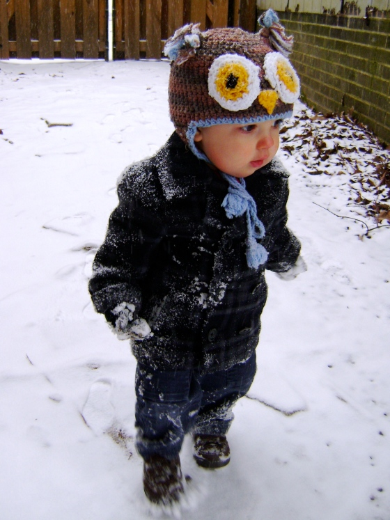 Playing In The Snow - finddailyjoy.com