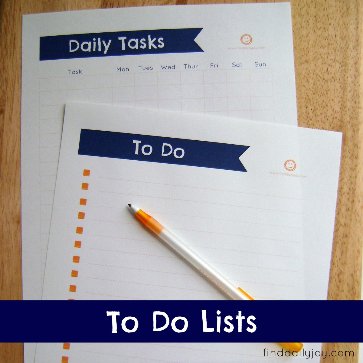To Do List {Free Printable}