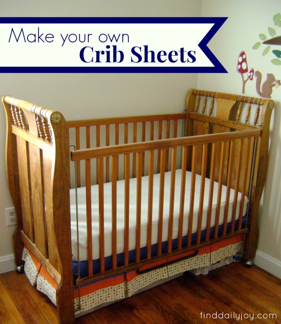 Crib Sheet {Tutorial} - finddailyjoy.com