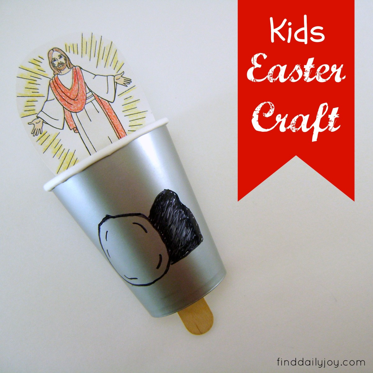 Kids Easter Craft {Tutorial}