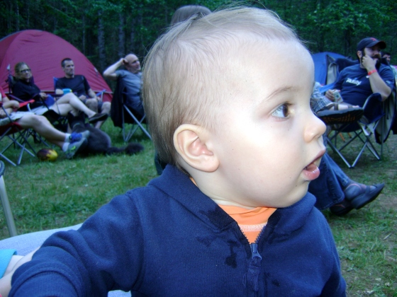 Henry's First Camping Trip - finddailyjoy.com
