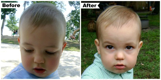 Henry's First Hair Cut - finddailyjoy.com