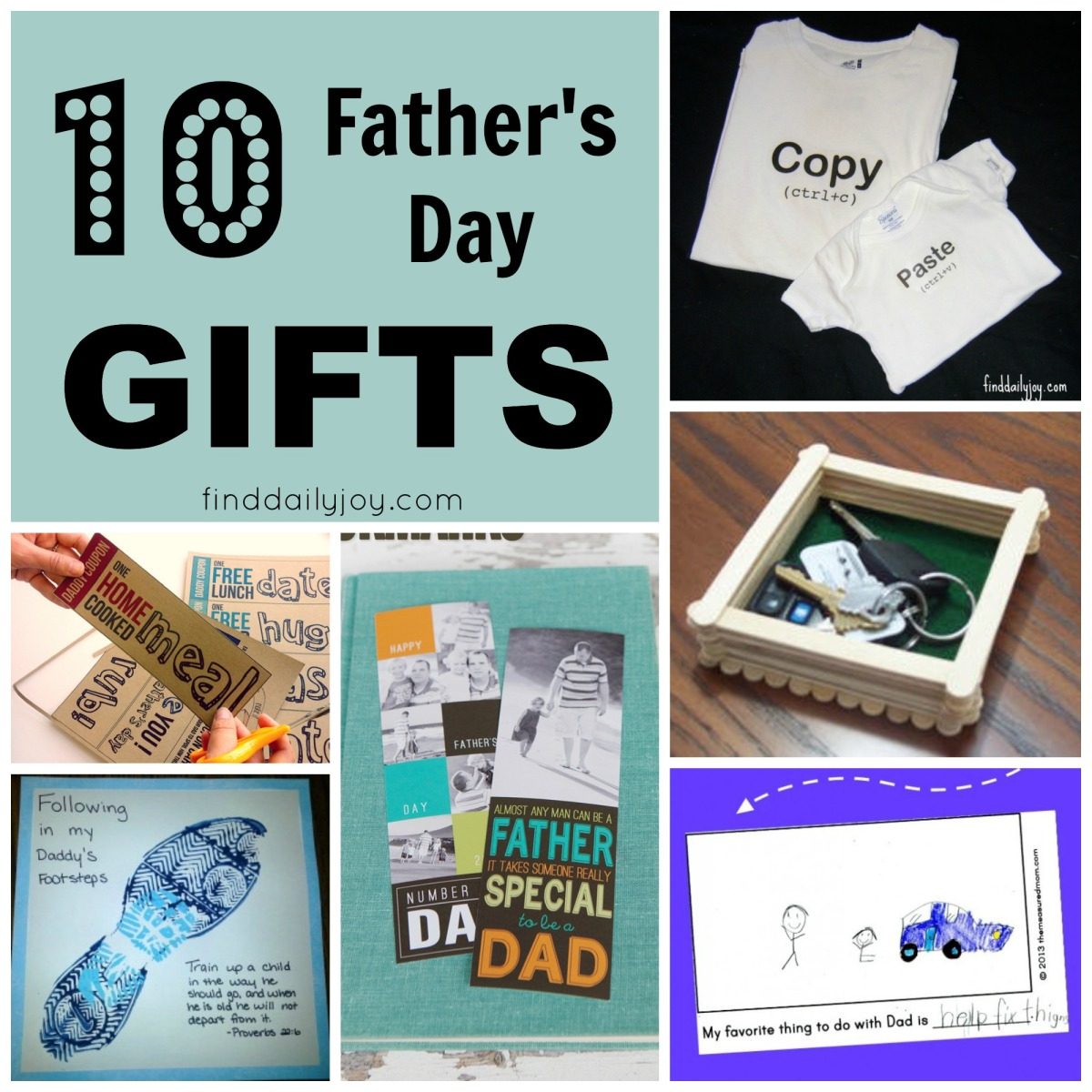 10 Father's Day Gifts