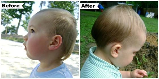 Henry's First Hair Cut - finddailyjoy.com