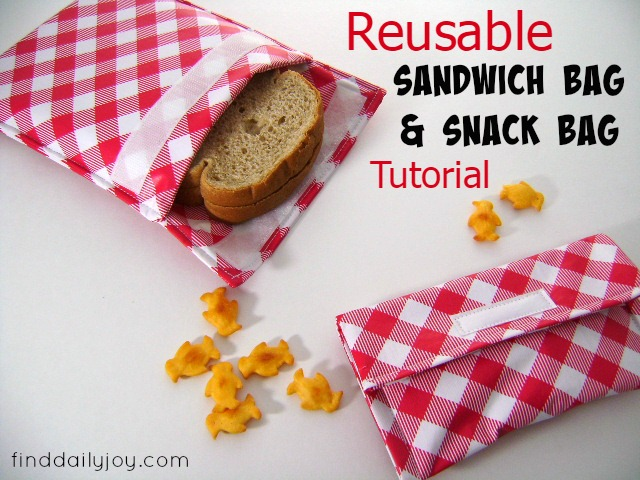 Reusable Sandwich And Snack Bags Find Daily Joy