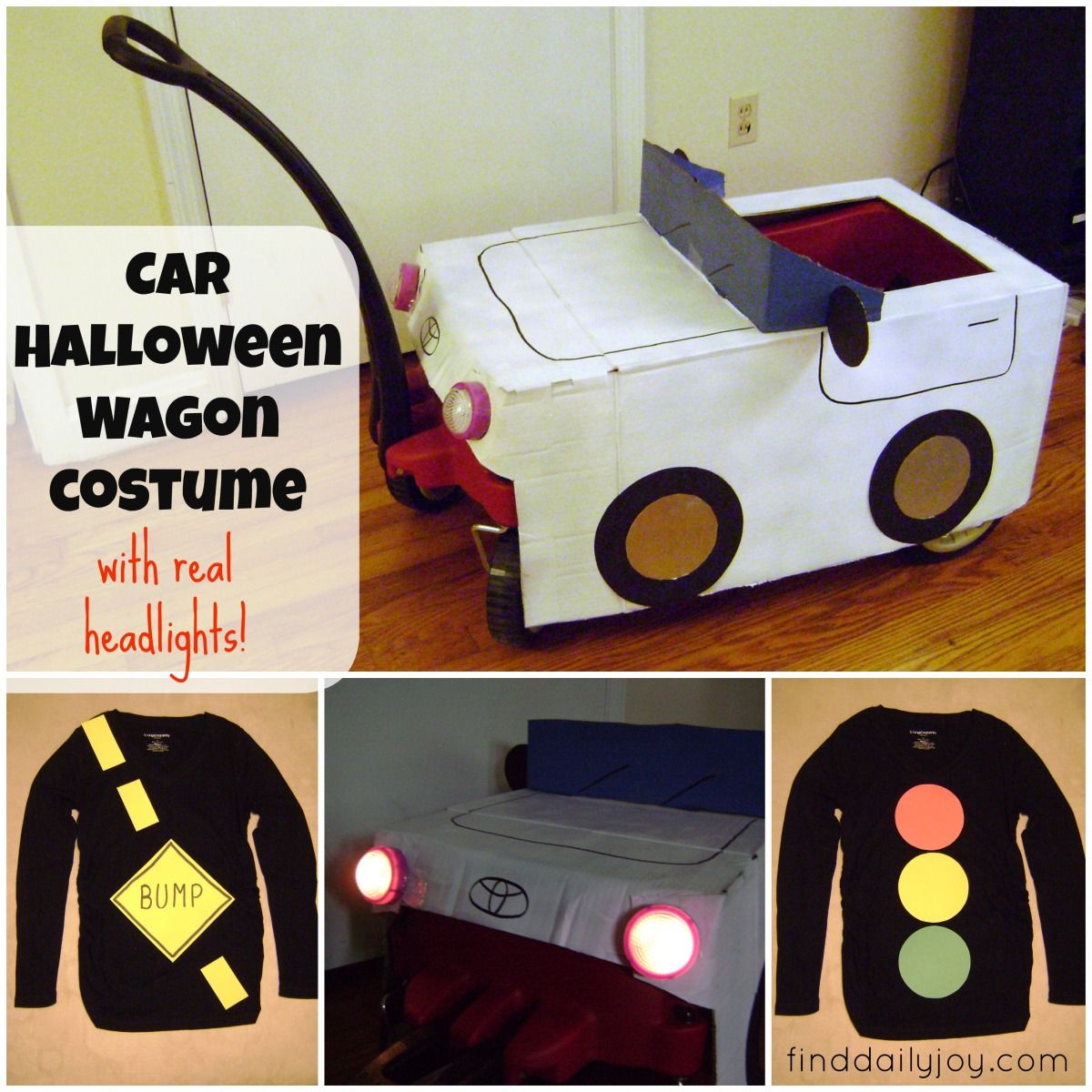 Car Halloween Wagon Costume {Tutorial}