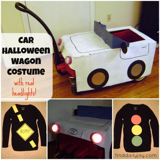 Car Halloween Wagon Costume {Tutorial} - finddailyjoy.com