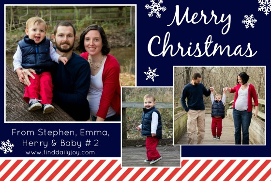 2014 Christmas Card - finddailyjoy.com